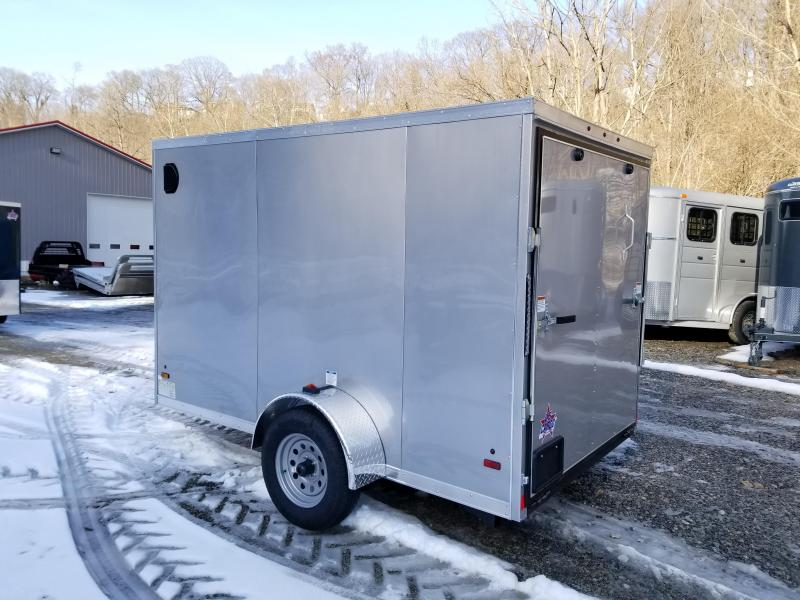 2019 US Cargo ULAFT 6x10 Ramp Door Enclosed Cargo Trailer