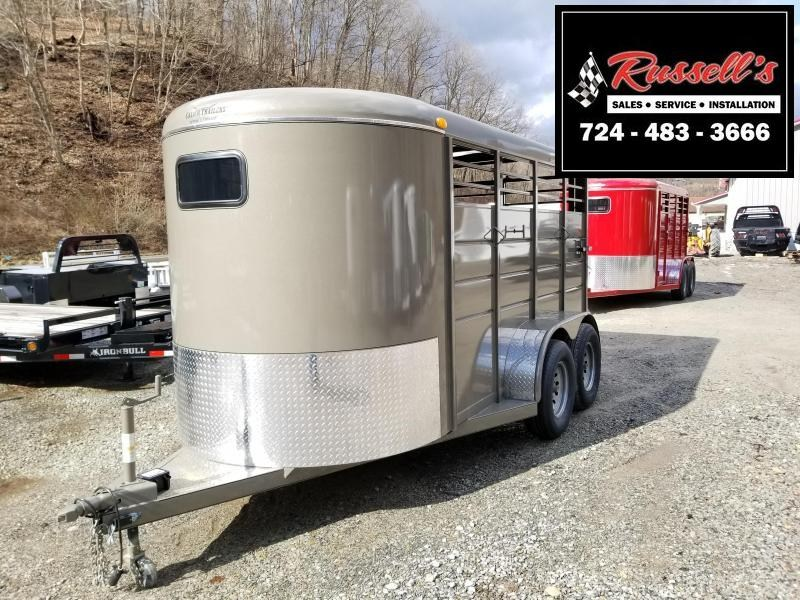 2019 Calico Trailers 14' X 6' X 6'6'' Livestock Trailer in Ashburn, VA
