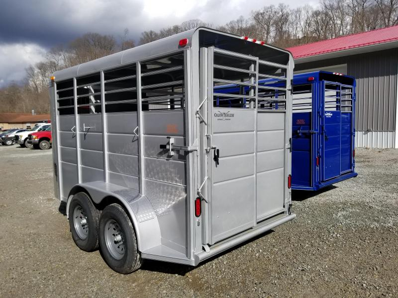2019 Calico Trailers 14 X 6' X 7' Extra Height Livestock Trailer