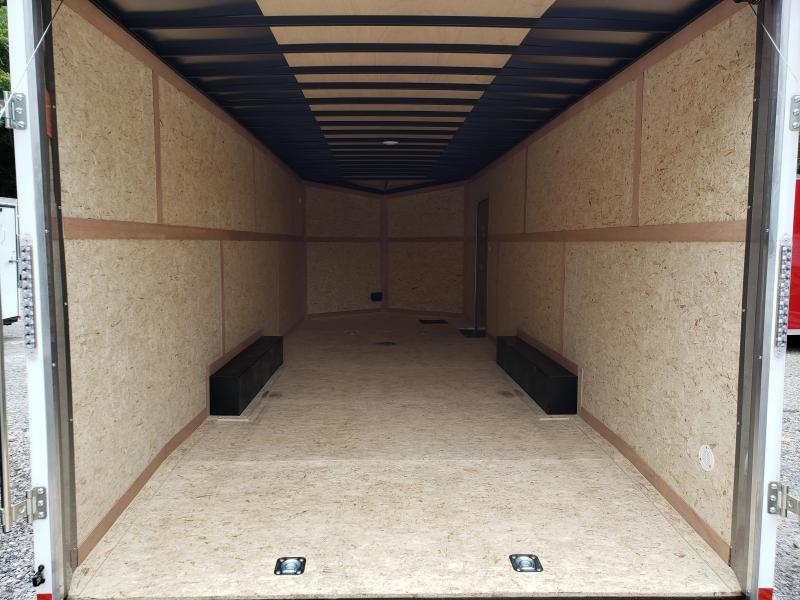 2020 Formula Trailers Conquest 8.5x24 Car Hauler 6'' Extra Height Enclosed Cargo Trailer