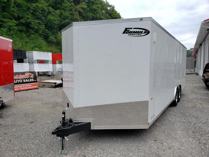 2020 Formula Trailers Conquest 8.5x24 Car Hauler 6'' Extra Height 9990 GVW Enclosed Cargo Trailer