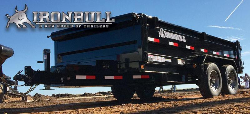 """Ironbull 83""""x14' Dump Trailer (DTB14)"""