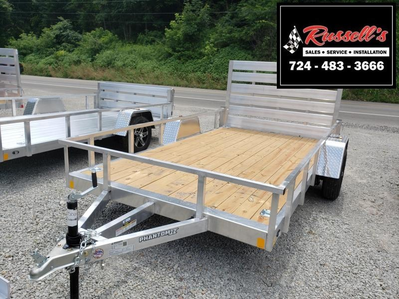 2020 Stealth Trailers 6.5x12 Phantom II Utility Trailer