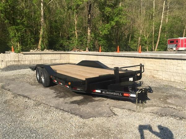 Iron Bull TLB14 Hyd Tilt Trailer W/ Drive over Fenders 22'