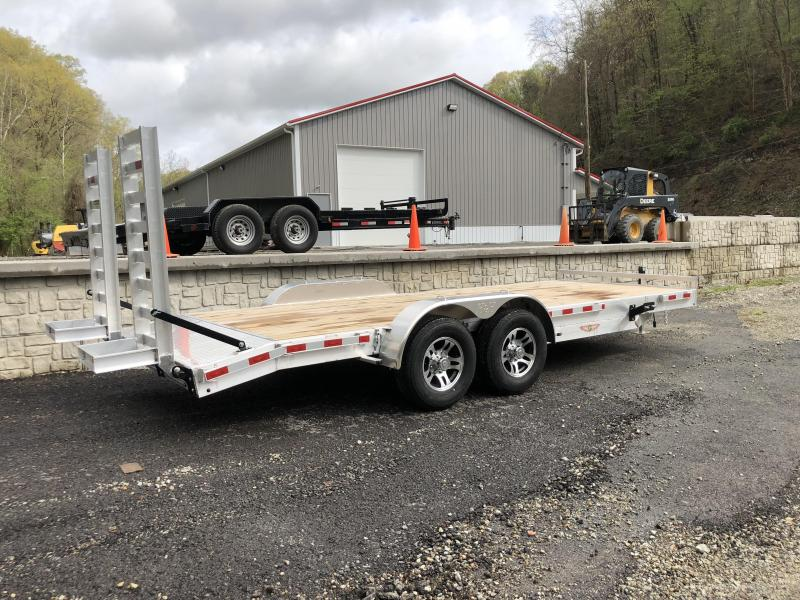 H&H 14k HD Aluminum Equipment Trailer (HDA)