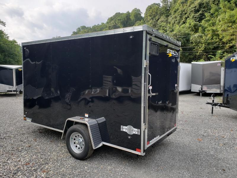 2020 Stealth Trailers Mustang 6'x12' 6'' Extra Height Enclosed Cargo Trailer