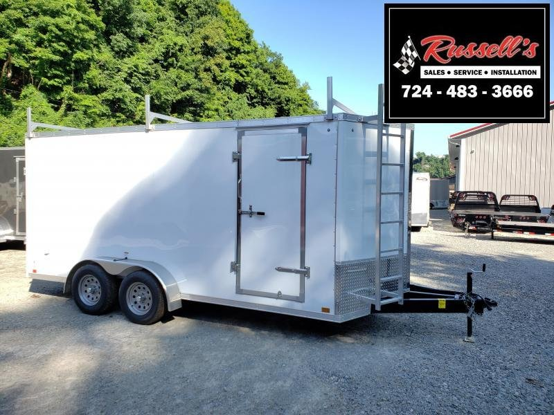 2019 Discovery Trailers 7x16 Rover SE 6 Extra Height Walk on Roof Enclosed Cargo Trailer in Ashburn, VA
