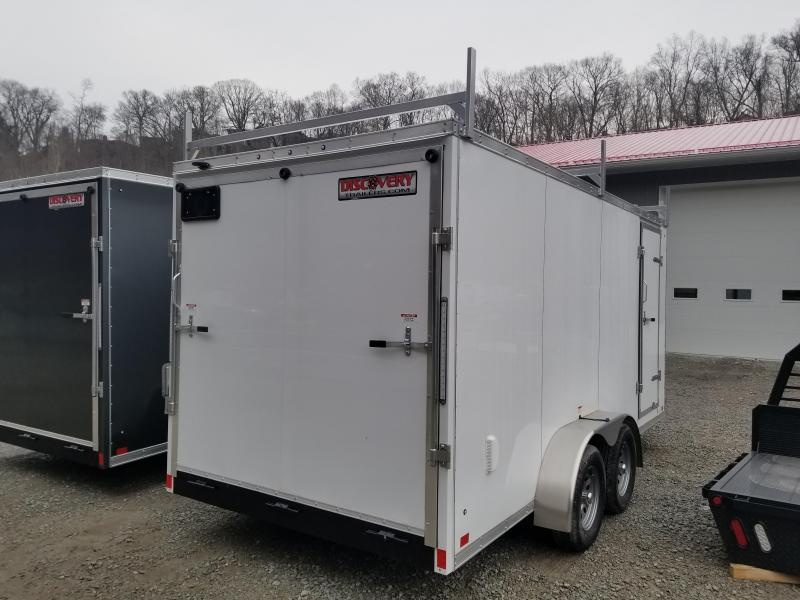 2019 Discovery Trailers 7x16 Rover SE 6 Extra Height Walk on Roof Enclosed Cargo Trailer