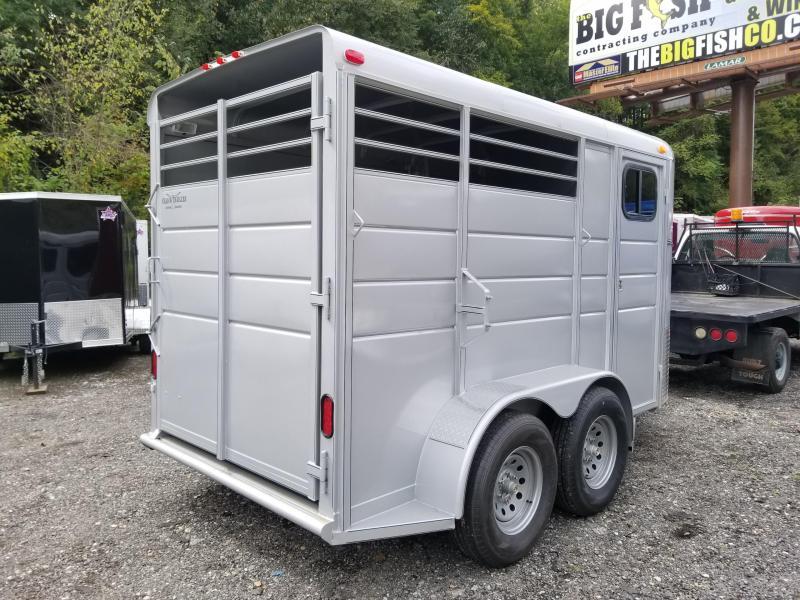 2019 Calico Trailers 14 X 6' X 7'. 2 Horse Slant Horse Trailer