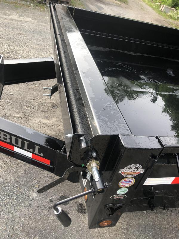 Iron Bull DDP 14' Deckover Dump Trailer