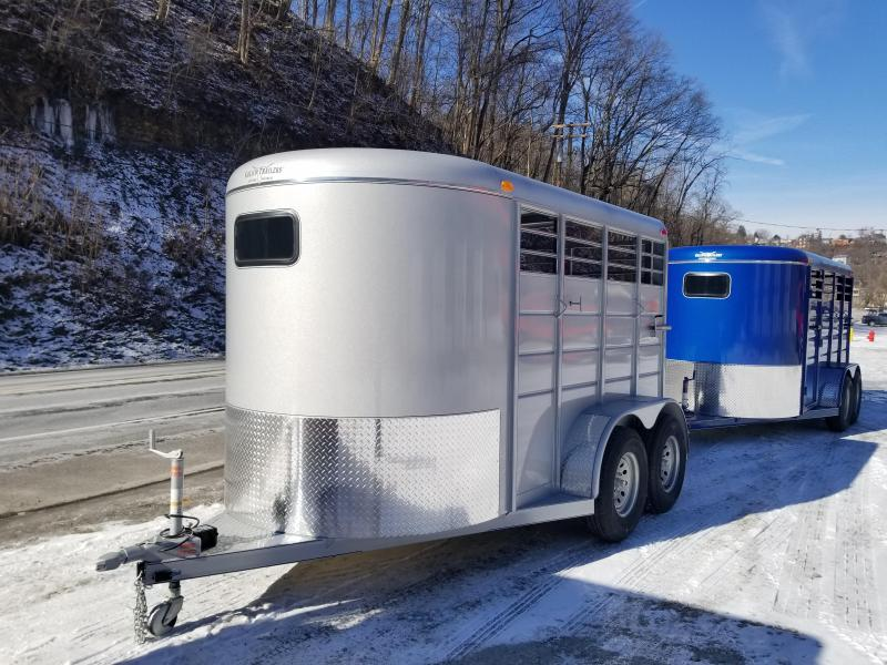 2019 Calico Trailers 12 X 6 X 6'6'' Livestock Trailer