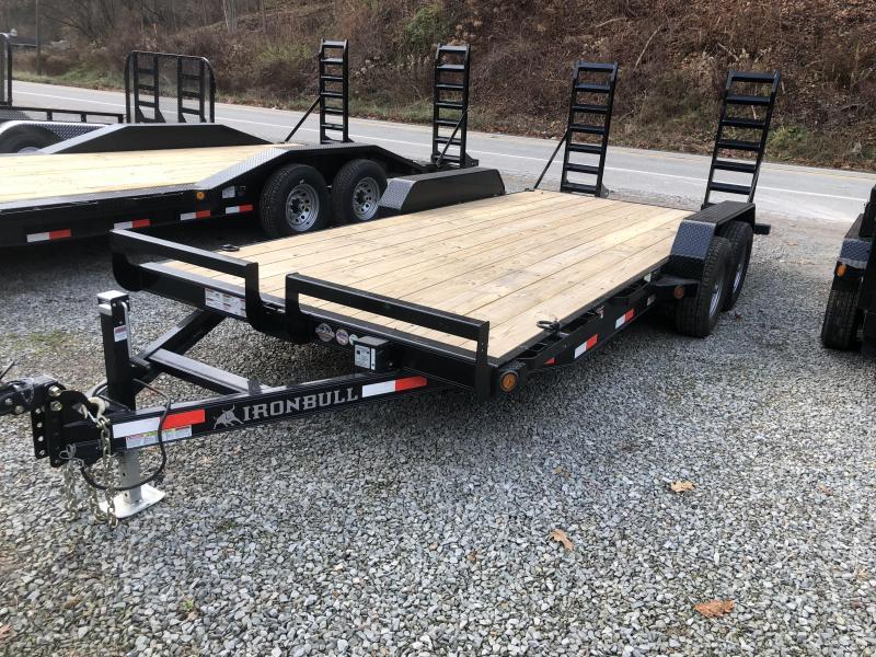 Ironbull 18' Equipment Trailer 9990 GVWR (EQ)