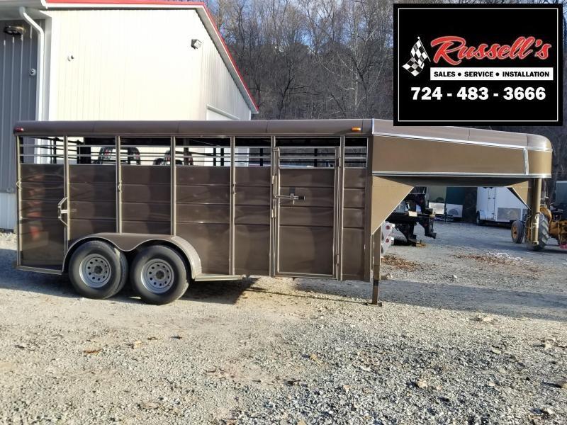 2019 Calico Trailers 16' X 6' X 6'6'' Gooseneck Livestock Trailer in Ashburn, VA