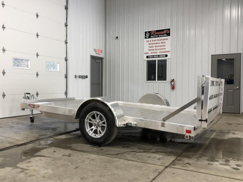 "H&H 78""X12' LOW-SIDE ALUMINUM TRAILER 3K"