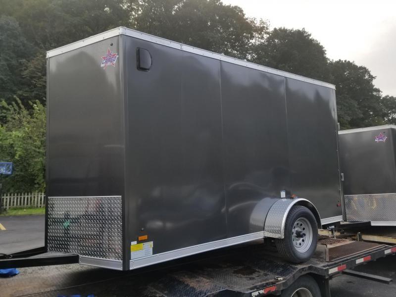 2019 US Cargo ULAFT 6x12 Ramp Door 6 Extra Height Enclosed Cargo Trailer