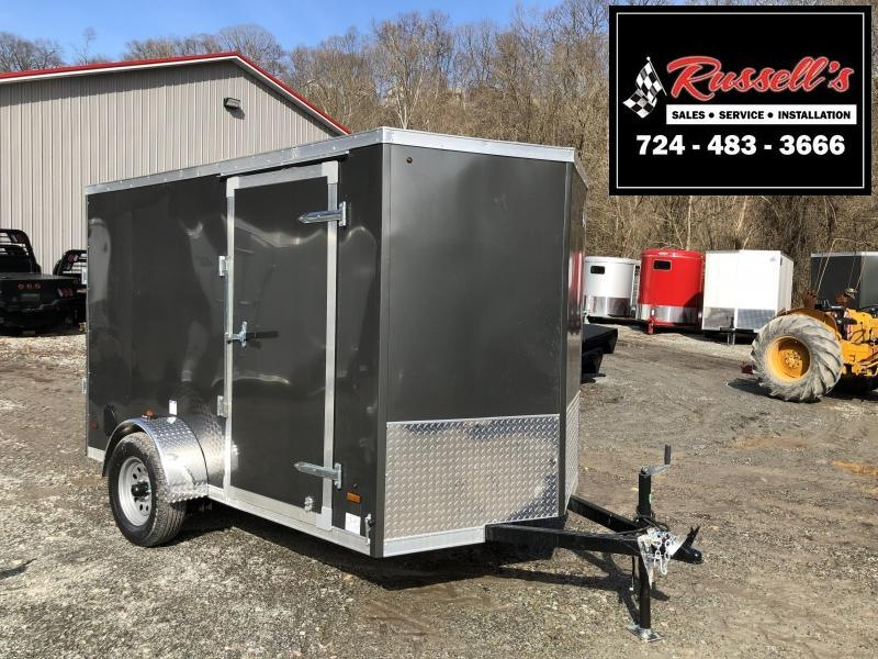 2019 US Cargo ULAFT 6x10 Ramp Door Enclosed Cargo Trailer in Ashburn, VA