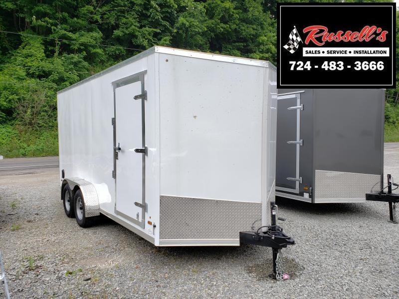 2020 US Cargo ULAFT 7x16 Ramp Door 12 Extra Height Enclosed Cargo Trailer in Ashburn, VA