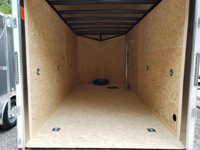 2020 US Cargo ULAFT 7x16 Ramp Door 12 Extra Height Enclosed Cargo Trailer