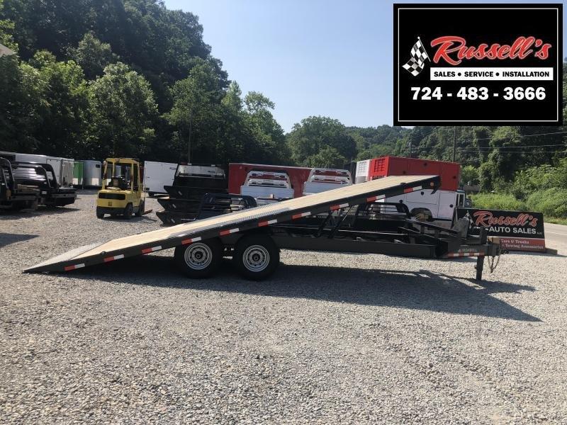 2019 Iron Bull TDP Deckover Tilt 22' Equipment Trailer