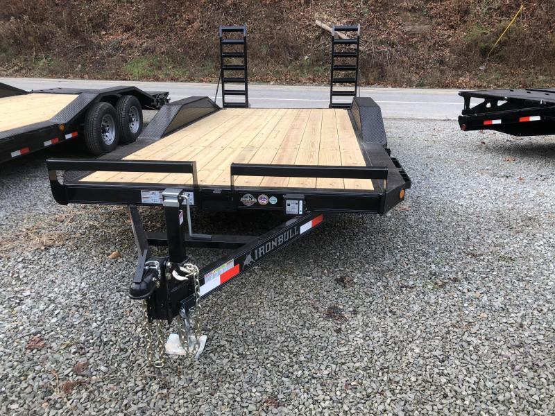 Ironbull 18' Equipment Trailer W/ HD Drive-Over Fenders 9990 gvwr (ETB)
