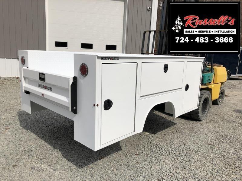 DuraMag S-Series Aluminum Service Body White DRW
