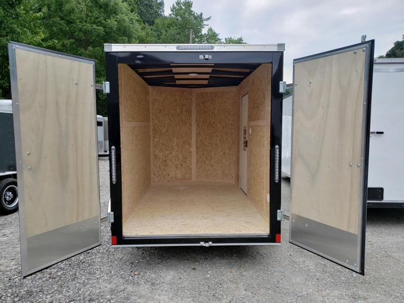 2020 Bravo Trailers Scout 6x10 Barn Door 6'' Extra Height Enclosed Cargo Trailer