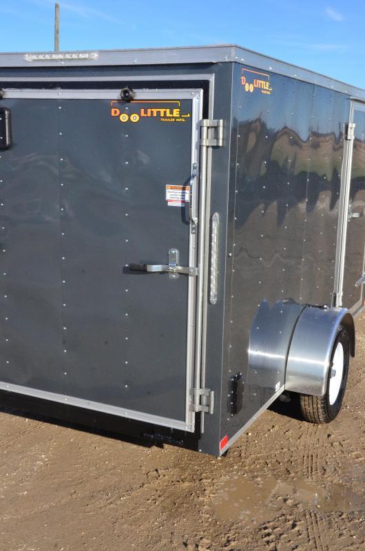 2019 Doolittle 6'X12' Cargo Trailer