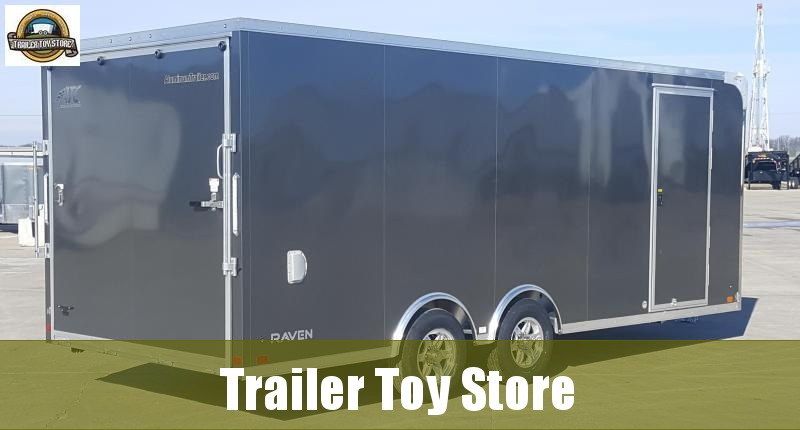 2019 ATC 8.5' X 20' Raven Car / Racing Trailer in Ashburn, VA
