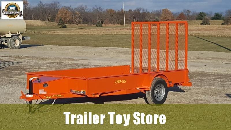 2019 Doolittle 7712-SS Utility Trailer