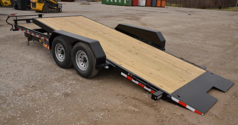 2019 Doolittle 8222 EZ Loader Equipment Trailer. 18+4