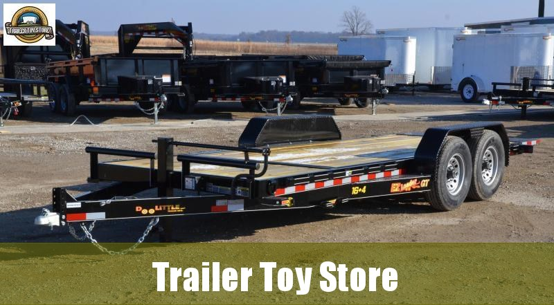 2019 Doolittle 8220 EZ Loader Equipment Trailer.16+4