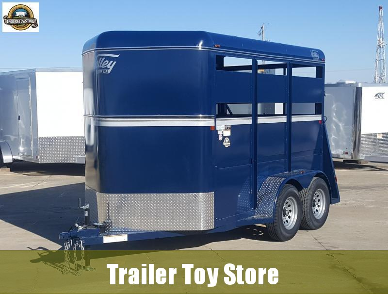 2019 Valley Trailers 26011SP (2) Stock Trailer
