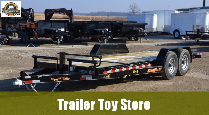 2019 Doolittle 8220 EZ Loader Equipment Trailer. 16+4