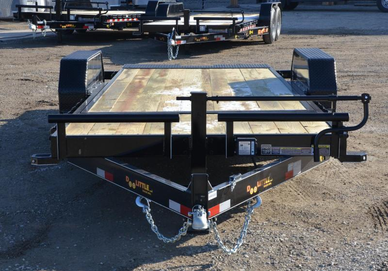 2019 Doolittle 8220 EZ Loader Equipment Trailer. 16+4