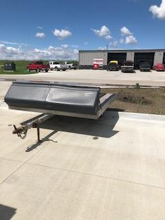 """2002 Used  96""""x10'  2 Place Snowmobile Trailer"""