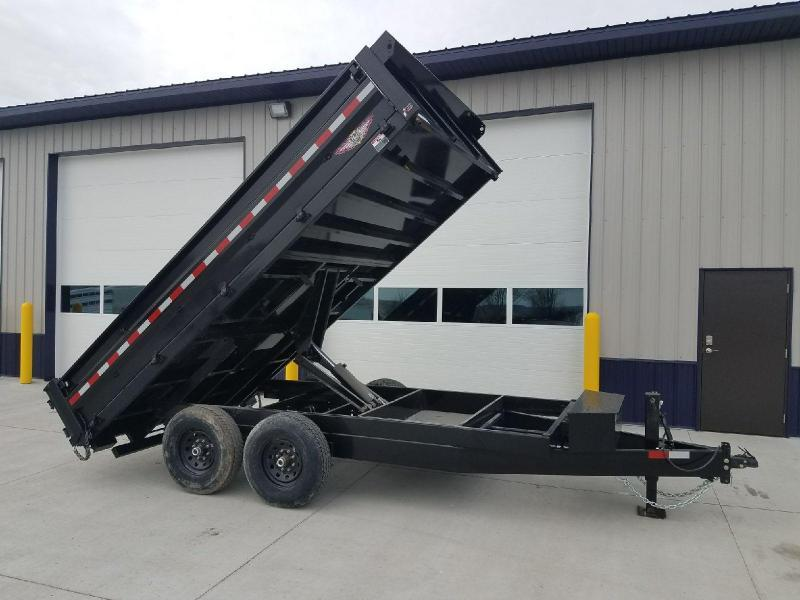"2018 H&H Trailers 96""x14' Deckover Dump Box Tandem Axle  in Blythedale, MO"