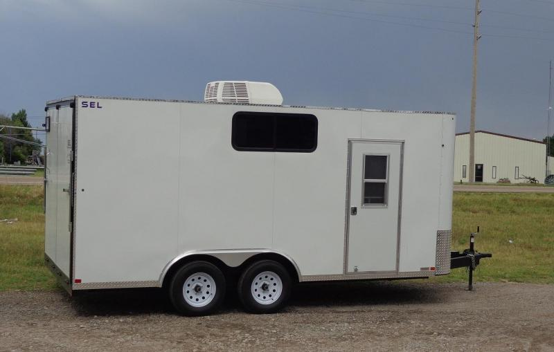 2019 Sharp SEL Enclosed Cargo Trailer