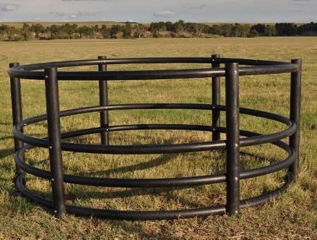 Century Livestock Poly Round Bale Feeders