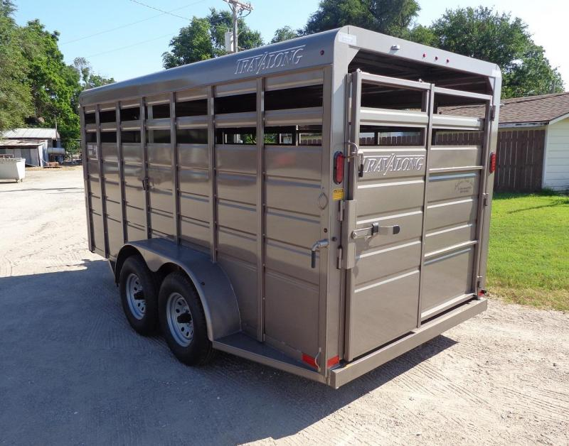 "2019 Travalong Scout 6'8"" x 16' Livestock Trailer"