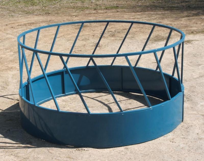 Steel 2 Piece Round Bale Feeder