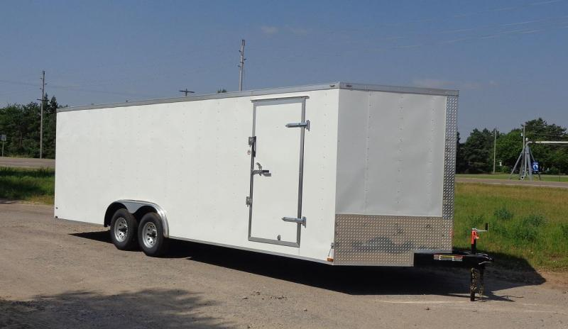 2019 Lark 8.5 x 24' V-Nose Enclosed Cargo Trailer
