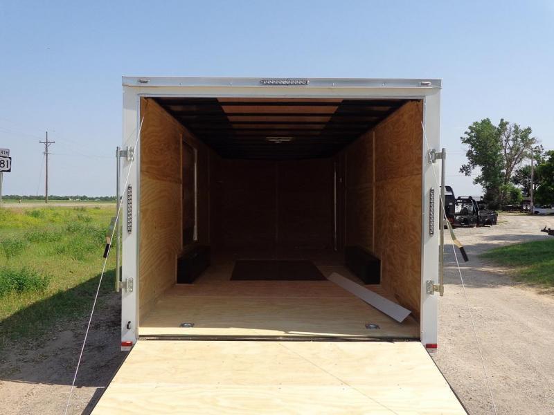 2019 Lark 8.5 x 24' V-Nose Enclosed Cargo Trailer