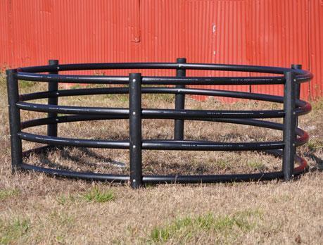 Century Livestock Horse Round Bale Feeder