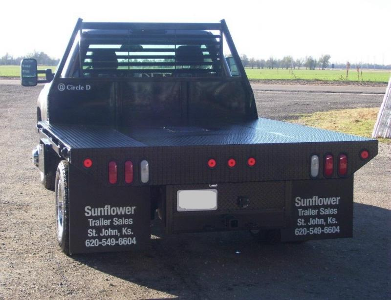 2019 Circle D Standard Flatbed Truck Bed