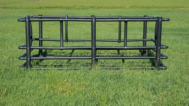 Century Livestock Poly Large Square Bale Feeder