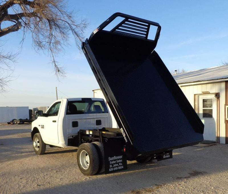 2019 C5 South Fork Dumping Flatbed Truck Bed