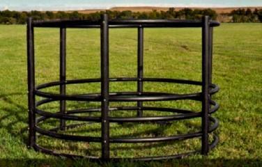 Century Livestock Tall Horse Round Bale Feeder