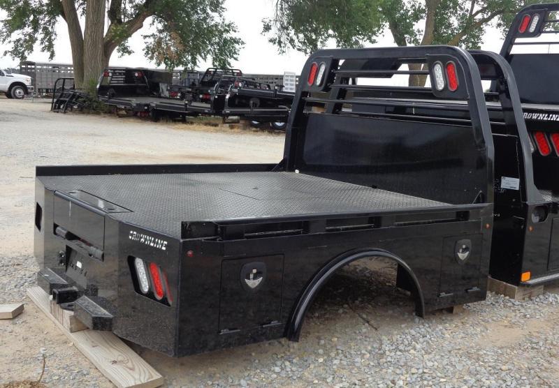 2019 Crownline (Hay Beds) Skirted Spike Bed Single Wheel Truck Bed