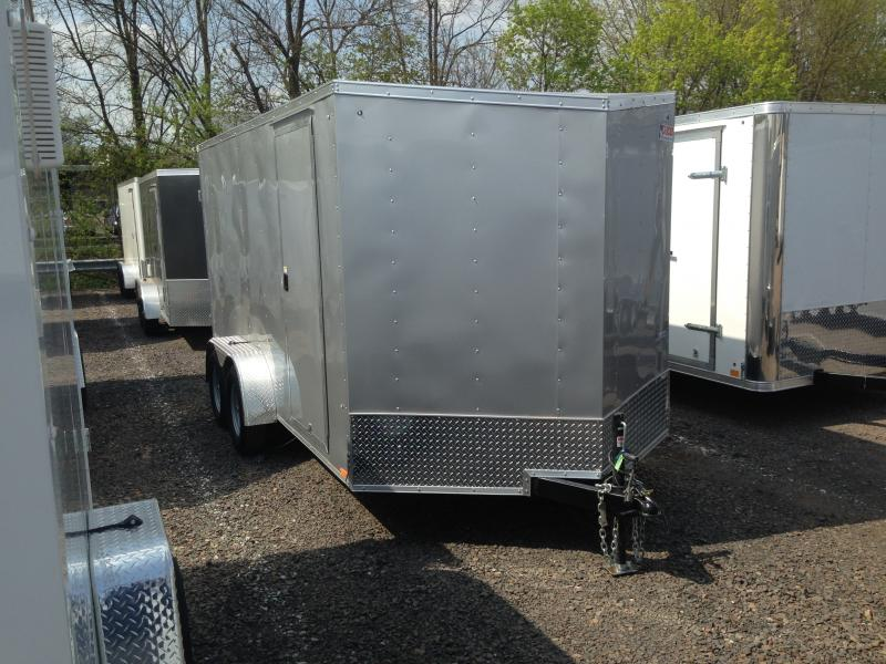 2018 Pace American OB 714 TE2 DLX Enclosed Cargo Trailer