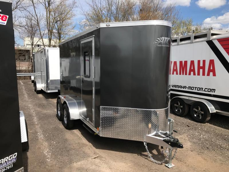 2018 Aluminum Trailer Company QSTAB612+0-2T3.5K Enclosed Cargo Trailer
